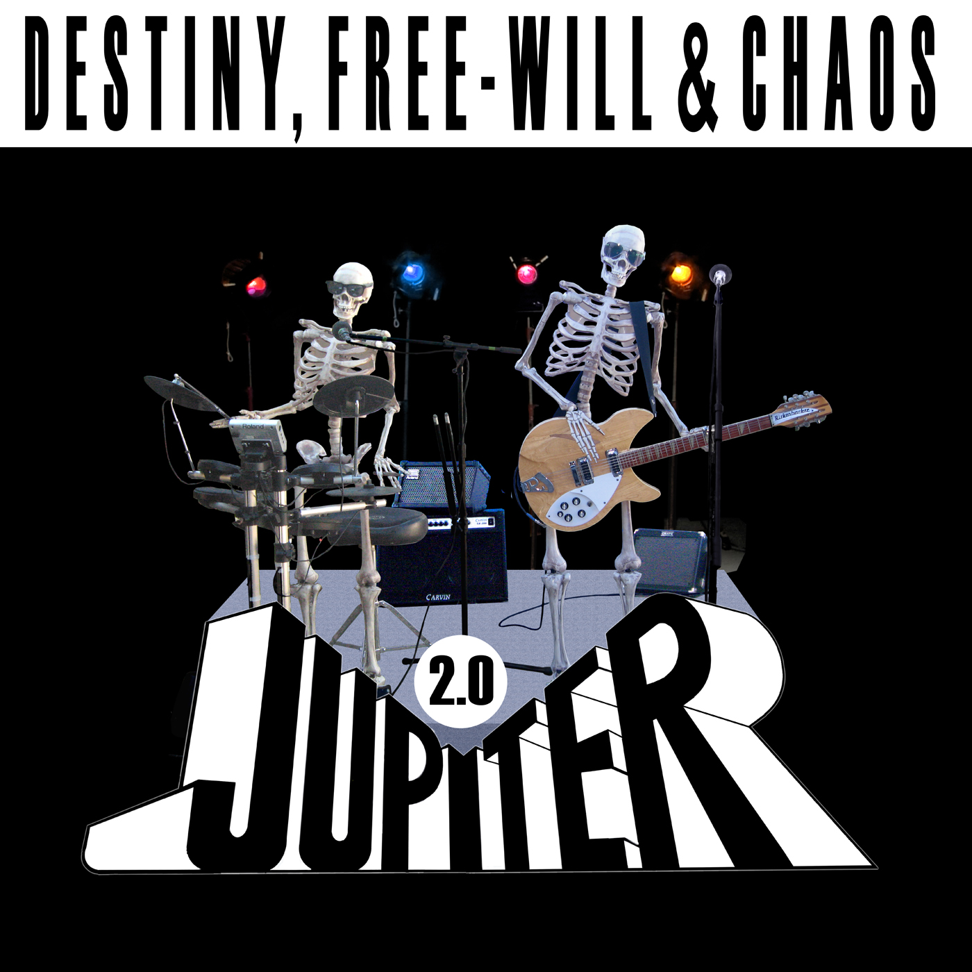 JUPITER 2.0 - Destiny, Free-Will & Chaos CD - Long Beach, California